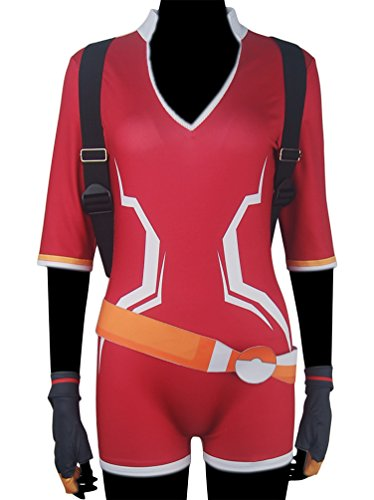 XYZcos Women's Pokemon Go Trainer Team Valor Instinct Mystic Deluxe Costume Size S