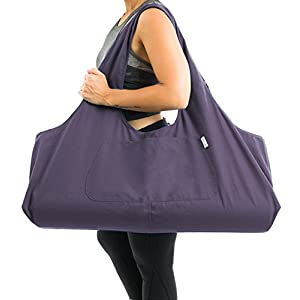 Well-Being-Matters 41lfU-YXekL._SS300_ Yogiii Large Yoga Mat Bag   The Original YogiiiTotePRO   Large Yoga Mat Tote Sling Carrier with Side Pocket   Fits Most…