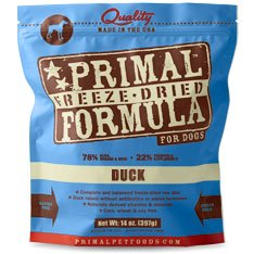 Primal Pet Freeze Dried Duck Dog 14oz