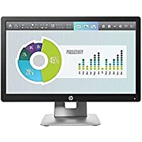 20 HP Elitedisplay E202 1600x900 VGA USB HDMI DisplayPort LED Monitor Black/Silver M1F41AA#ABA
