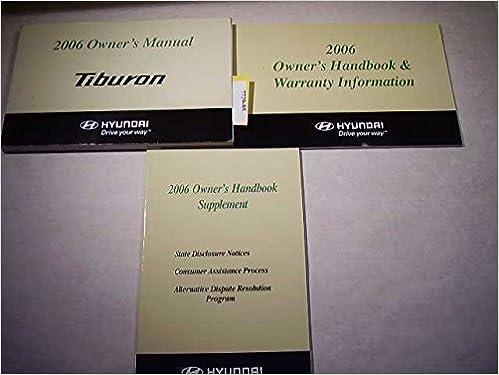 2006 hyundai tiburon manual