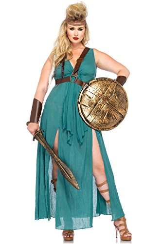 Warrior Maiden Costume - Plus Size 1X/2X - Dress Size 16-20 (2)