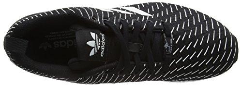 adidas ZX Flux, Herren Laufschuhe Schwarz (Core Black/Core Black/Ftwr White)