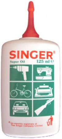 aceite lubricador Original SINGER para máquinas de coser fusil armas DF 900268
