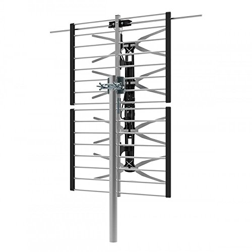 PrimeCables® 65 Miles Range High Gain VHF/UHF Combo HD TV Outdoor Antenna