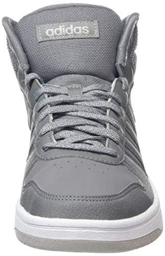 Adidas Gris F17 Zapatillas Mid F17 grey 2 White Deporte Three 0 De Para Hoops Hombre grey ftwr rwIzt7qxwW