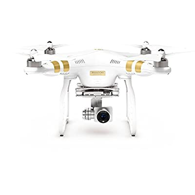 DJI Phantom 3 Professional QuadCopter Drone With 4K Video Camera and 3-Axis Gimbal + Extra Battery + DJI Hardshell Backpack + Lexar 64GB High-Performance microSDXC 633x Card W/USB 3.0 Reader
