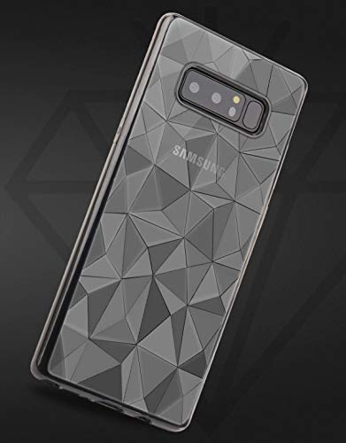 (BuyAlegria Clear Case Flexible Transparent Thin TPU Silicone Cover Diamond Pattern Textured for Samsung Galaxy S10 Plus - Protection Without The Bulkiness)