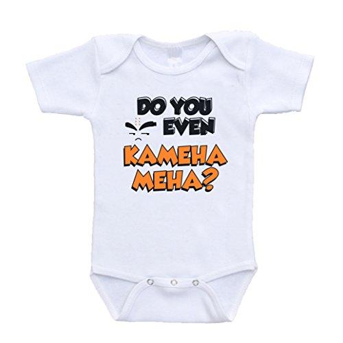 Do You Even Kamehameha Dragon Ball Z Gt Parody Baby Onesies newborn(0-3 Months) ()