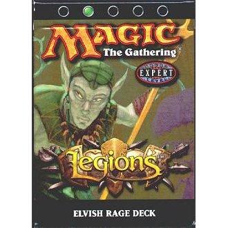 Magic the Gathering MTG Legions Elvish Rage Theme Deck by Wizards - Legions Theme Deck