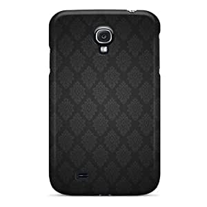 New Premium PohlMhT4791gPRXo Case Cover For Galaxy S4/ Dark Grey Pattern Protective Case Cover