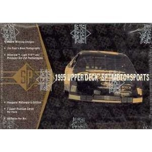 1995 Upper Deck SP Motorsports Racing Cards Unopened Hobby Box ()