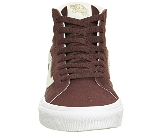 homme Exclusive Baskets Eggnog White Suede Port vd5i6bt Sk8 True mode Hi Vans wp7YBW