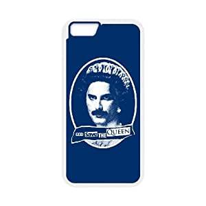 God Save the Queen iPhone 6 Plus 5.5 Inch Cell Phone Case White JU0010861