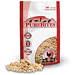 Purebites Chicken Breast For Cats, 1.09Oz / 31G - Value Size, 14 Pack