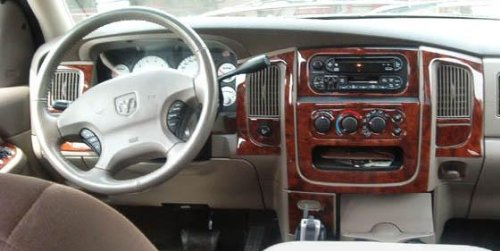 Dodge Ram 1500 2500 3500 Interior Wood Dash Trim Kit Set 2002 2003 2004 2005 Buy Online In Uae
