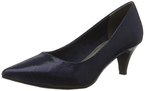 22415 Tacco Blue Str Donna Tamaris night Scarpe Blu Con ZTAxvwU