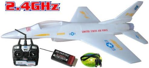 Amazon com: Skyartec F-16 5 Channel Ducted Fan 2 4 Ghz
