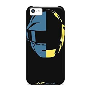 InesWeldon Iphone 5c Great Cell-phone Hard Covers Allow Personal Design Nice Daft Punk Band Image [GLq13856MHPW]