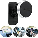 """Car Phone Mount Magnetic,OHLPRO Universal Phone Holder Stick On Car Dashboard Mount,360°Adjustable Rotating,for iPhone Samsung Sony Google All 4""""- 6.4"""" Smartphones GPS Mobile"""