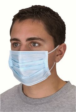 Nonwoven Dust Masks, 50 Pack
