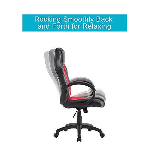 acepro executive high back office chair desk computer pu leather
