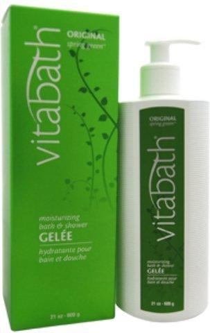 Moisturizing Spring Green Gelee Original (Vitabath Moisturizing Bath Gelee, Original Spring Green - 21 oz by Vitabath)