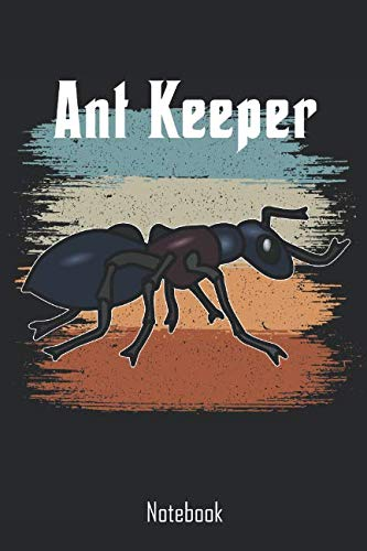 Ant Keeper: Retro Vintage Ant Keeper Notebook | college book | diary | journal | booklet | memo | 110 sheets - ruled paper 6x9 inches