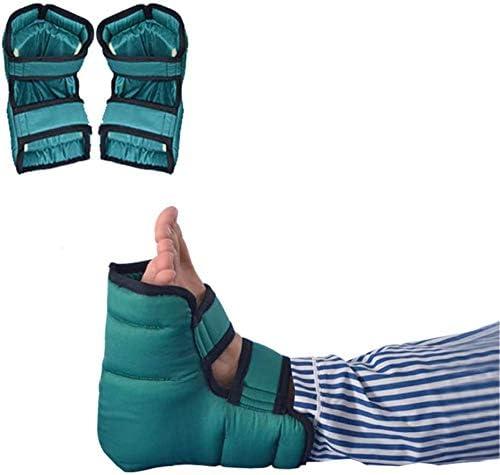 Talón anti úlcera de decúbito arranque del protector del amortiguador, cuidado de los pies para los pacientes postrados en cama, ortopédica de Pillowfor úlceras por presión y tendón Resto - 1 par