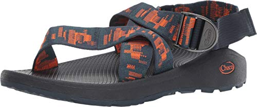 (Chaco Men's Mega Z Cloud Sandal, Fault Navy, 8 M US )