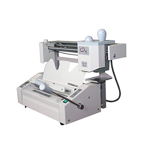 Manual Hot Melt Glue Book Binder Machine Office A4 Perfect Desktop Book Paper Binder Puncher With LCD Milling Cutter With 1 Pound Glue Pellets by Unknown (Image #5)
