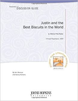 Amazoncom Teachers Discussion Guide Justin And The Best Biscuits