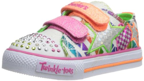 Skechers Kids 10336N Twinkle Toes Classy Sassy Lighted Sneaker (Toddler)