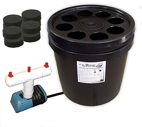 8 Site Aeroponic Plant Cloner - Clone Bucket 8 Black Edition From...