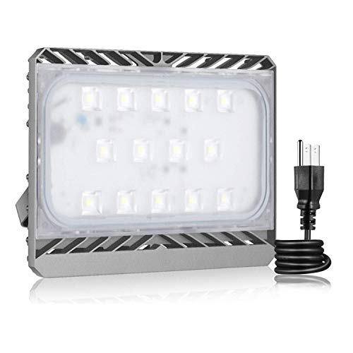 LED Flood Light Outdoor, STASUN 6300lm 70W LED Security Lights, 3000K Warm White, Built with Cree LED Chips, Waterproof, Great for Patio, Yard, Garage