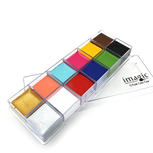 SILVERCELL 12 Colors Face Paint Oil Professional Body Painting Art Party Fancy Make Up (A1) from Silvercell