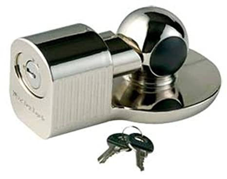 Master Lock Trailer Lock 378DAT Trailer Coupler Lock Fits 2-5//16 in Couplers