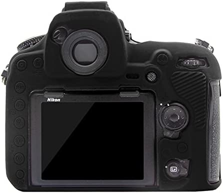 Camouflage Xdashou Camera Case Wuzpx Easy Silicone Protective Case for Nikon D850 Color : Red