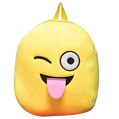 Tinytot Smiley Kids School Bag  Yellow_2