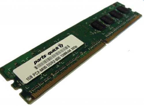 - 1GB DDR2 Memory Upgrade for Biostar Motherboards NON-ECC PC2-6400 240 pin 800MHz DIMM RAM (PARTS-QUICK BRAND)