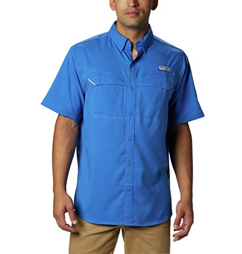 Columbia Men's Low Drag Offshore Short Sleeve Shirt, UPF 40 Protection, Moisture Wicking Fabric (Shirt Low Get)