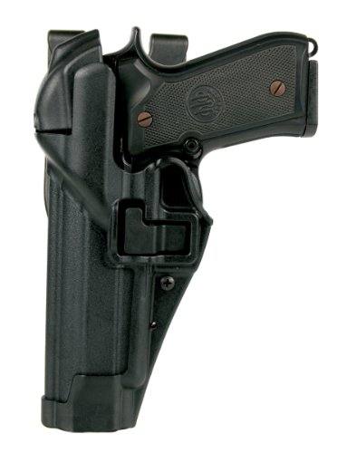 BLACKHAWK! SERPA Level 3 Auto Lock Duty Matte Finish Holster, Size 25, Right Hand (S&W M&P 9/.357/.40 (w or w/o Thumb ()