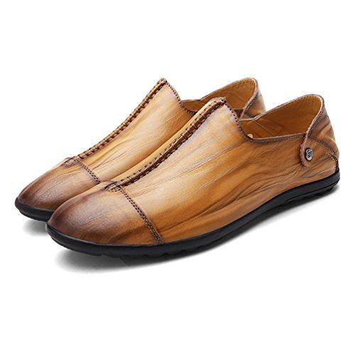 Hombre Amarillo Feidaeu Material Zapatos de Sintético zwFFHnBq7