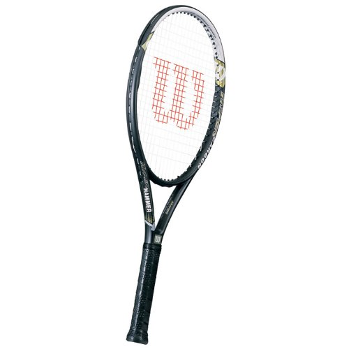 (Wilson Hyper Hammer 5.3 Tennis Racquet - 110 in. Head (4 3/8))