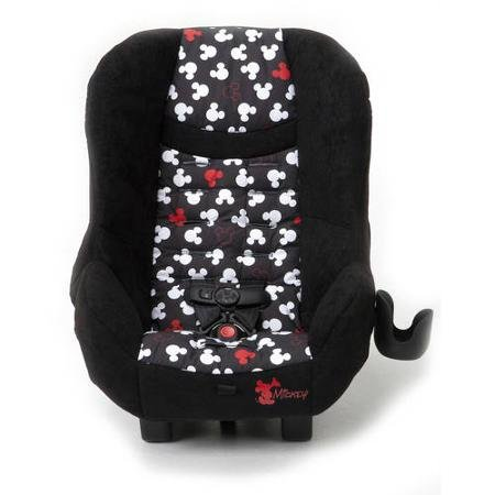 Lightweight and Compact Scenera Convertible Car Seat with Cute Pop up Mickey Design - Cosco Car Seat Base