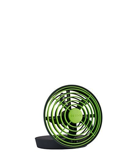: O2 Cool 5 Inch Battery or USB Operated - assorted colors, 1 Portable Fan