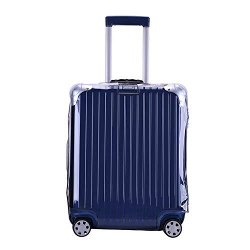 RainVillage Rimowa Luggage Covers Luggage Protector Clear PVC Suitcase Protective Case with Zipper Closure for Rimowa Original Essential Lite Hybrid (88373,30