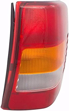 AmeriLite 1999-2004 Replacement Brake Tail Lights for Jeep Grand Cherokee Passenger and Driver Side