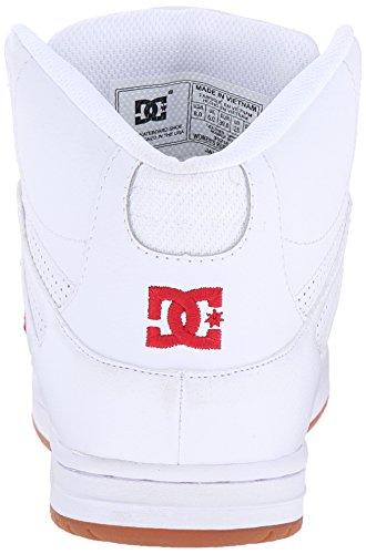 Dc Jeugd Rebound Skate Schoenen Wit / Rood