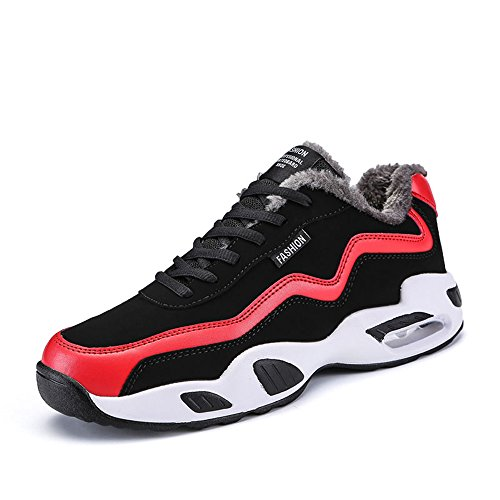 Men's Shoes Feifei Keep Warm Leisure Sport Cotton Shoes 3 Colors (Color : 01, Size : EU/41/UK7.5-8/CN42)